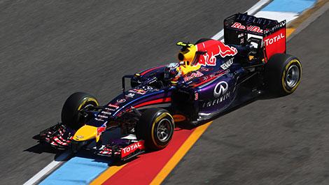 2014 German GP F1 Daniel Ricciardo, Red Bull Racing