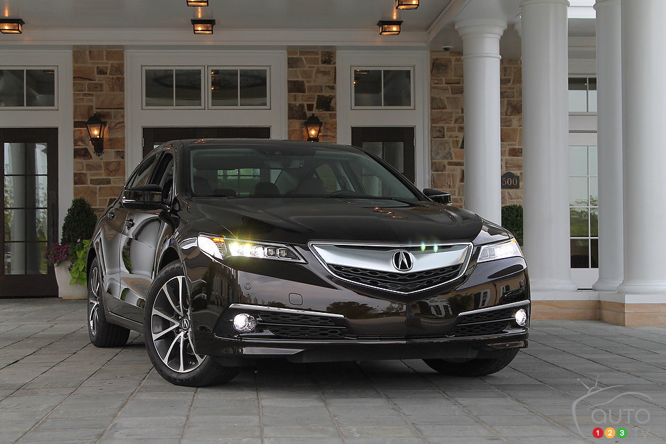2015 Acura TLX First Impression