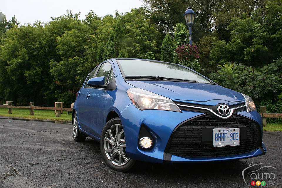 2015 Toyota Yaris First Impression