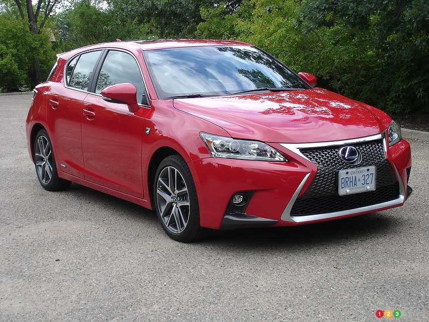 2014 Lexus CT 200h F SPORT Review