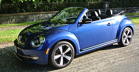 2014 Volkswagen Beetle Convertible Turbo Review