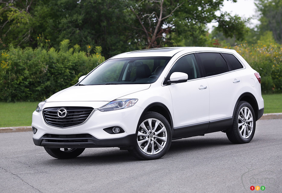 2014 mazda cx 9 gt review morrey mazda of the northshore. Black Bedroom Furniture Sets. Home Design Ideas