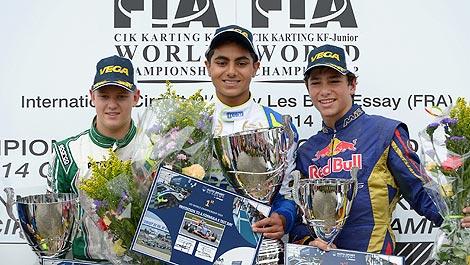 Karting: Michael Schumacher's son Mick shines in World Championships