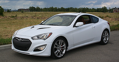 2014 Hyundai Genesis Coupe 3.8 GT Review