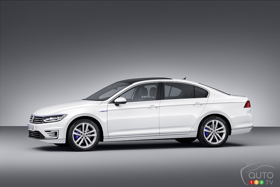 World premiere of Volkswagen Passat GTE plug-in hybrid