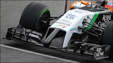 F1: Mercedes et Ferrari ''avantagées'' avec leurs nez pour 2015