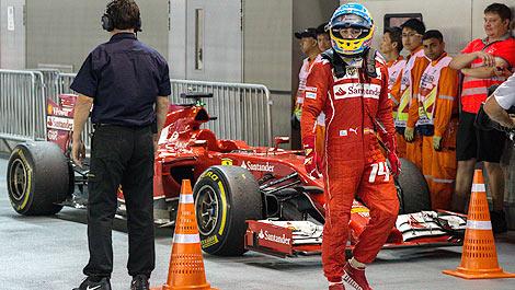 F1: Gerhard Berger conseille à Ferrari de ''garder Alonso''