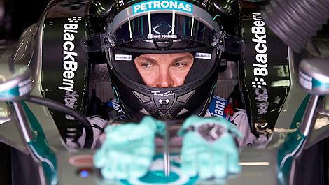 F1 Nico Rosberg Mercedes AMG