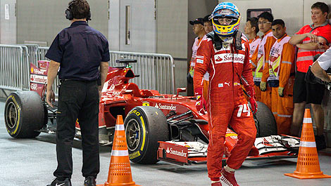 F1 Ferrari Fernando Alonso