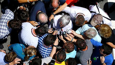F1 Brazil Interlagos Bernie Ecclestone
