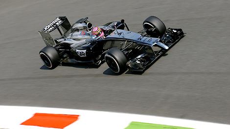 F1 McLaren Jenson Button Monza