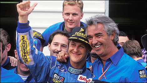 F1 Michael Schumacher 1994 Australia world champion