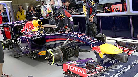 F1 Sebastian Vettel Red Bull RB10