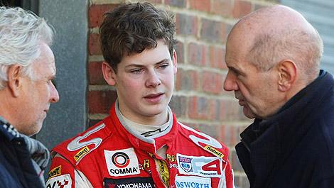 F1 Harrison Adrian Newey