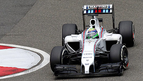 F1 Felipe Massa Williams Mercedes