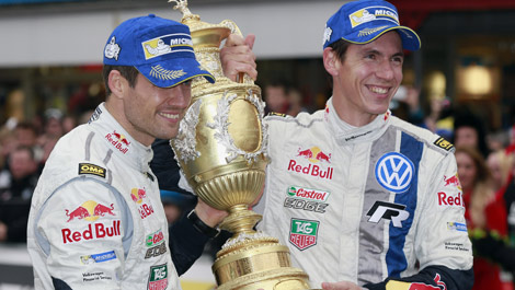Sébastien Ogier, Julien Ingrassia WRC Wales Rally GB