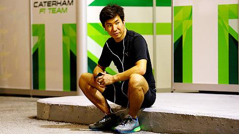 F1 Caterham Kamui Kobayashi