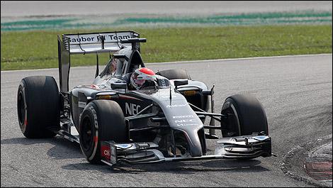 F1 Adrian Sutil Sauber C33-Ferrari