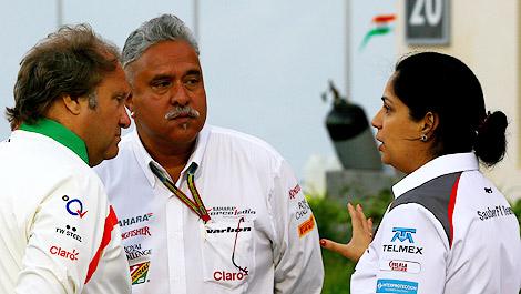 F1 Bob Fernley Vijay Mallya Sahara Force India Monisha Kaltenborn Sauber