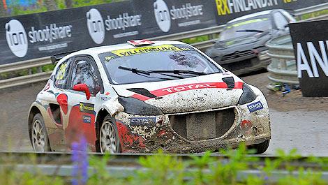Rallycross Albatec Racing Peugeot 208 16v Jacques Villeneuve