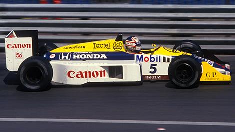 Nigel Mansell, Williams, 1986 (Photo: WRI2)