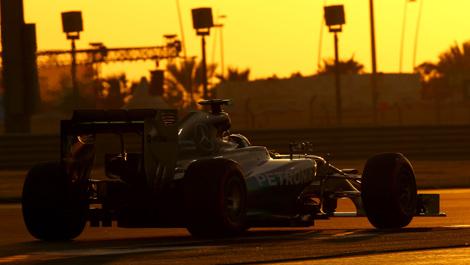 Nico Rosberg, Mercedes W05 Abu Dhabi F1