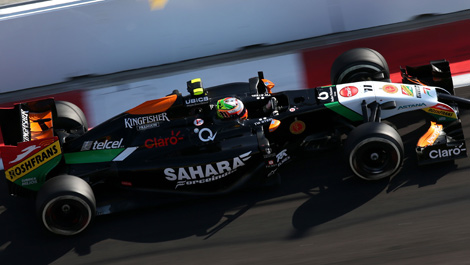 Sergio Perez, Force India VJM07