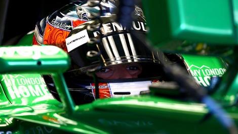 Will Stevens, Caterham F1 Abu Dhabi