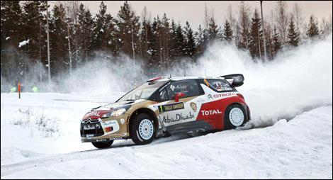 WRC Sebastien Loeb Citroen DS3