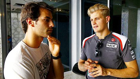 F1 Felipe Nasr Sauber Marcus Ericsson