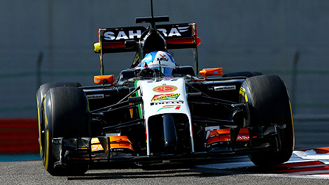 F1 Jolyon Palmer Sahara Force India
