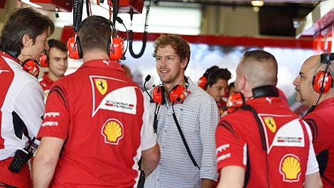 F1 Sebastian Vettel Ferrari Abu Dhabi