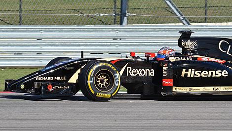 F1 Lotus E22-Renault Austin Rexona