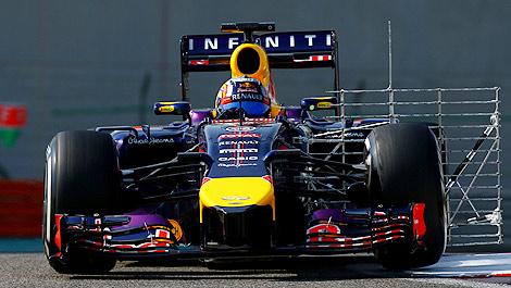 F1 Carlos Sainz Jr Red Bull RB10 Renault Abu Dhabi