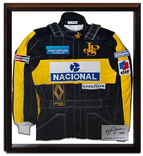 Stand 21 propose une édition limitée de la combinaison d'Ayrton Senna