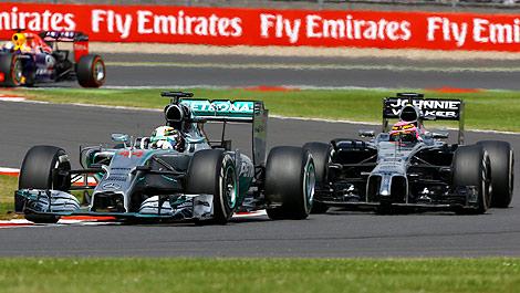 F1 Lewis Hamilton Mercedes Jenson Button McLaren