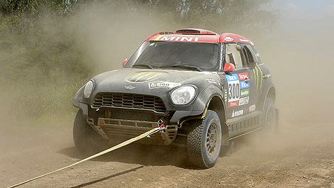Rally Nani Roma MINI Dakar
