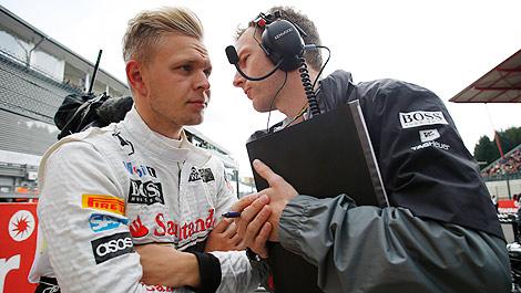 F1 McLaren Kevin Magnussen