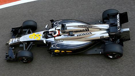 F1 McLaren Honda Abu Dhabi