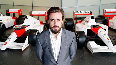 F1 McLaren-Honda Fernando Alonso Woking