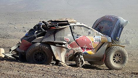 Dakar Carlos Sainz Peugeot 2008 DKR