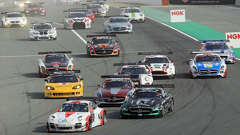 GT 24 Hours of Dubaï 2015