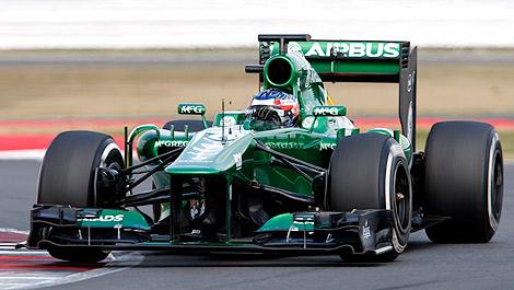 F1 Will Stevens Caterham