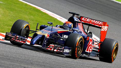 F1 Max Verstappen Toro Rosso