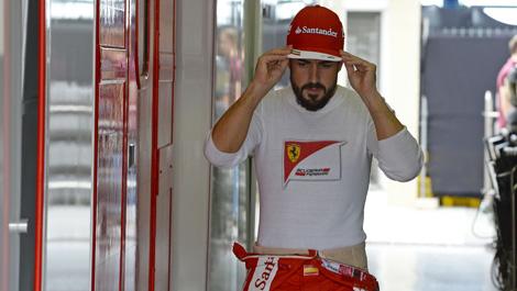 F1 Fernando Alonso Ferrari
