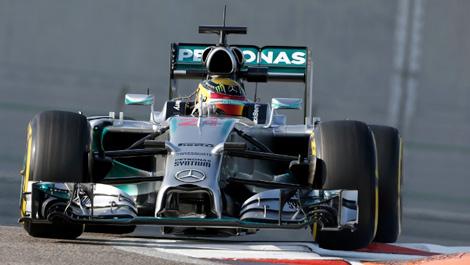 F1 Mercedes AMG Pascal Wehrlein