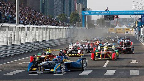 Formula E start