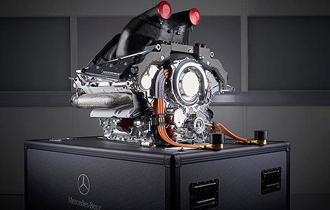 F1 Mercedes V6 turbo hybrid