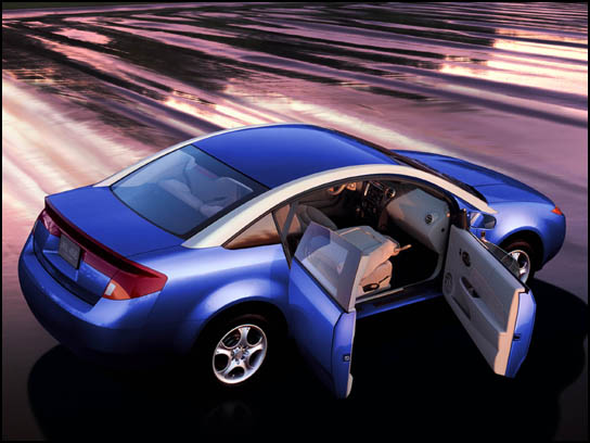 All-New Saturn ION Sedan and Quad Coupe