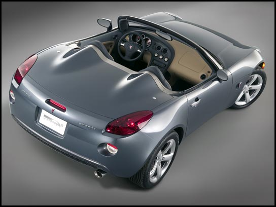Solstice roadster starts at $25,695 this summer